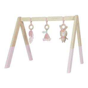 little dutch our little toyshop aktivitetsstativ med tilbehør rosa