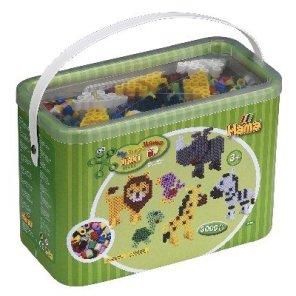maxi perler 3000 i bøtte med stiftplade perleplader startpakke hama our little toyshop