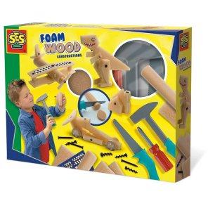 byggesæt med skumtræ leg hammer ses creative our little toyshop