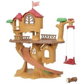 eventyrligt træhytte sylvanian families our little toyshop