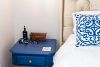 """My Master Bedroom Tour"" DIY Navy & Copper Master Bedroom ..."