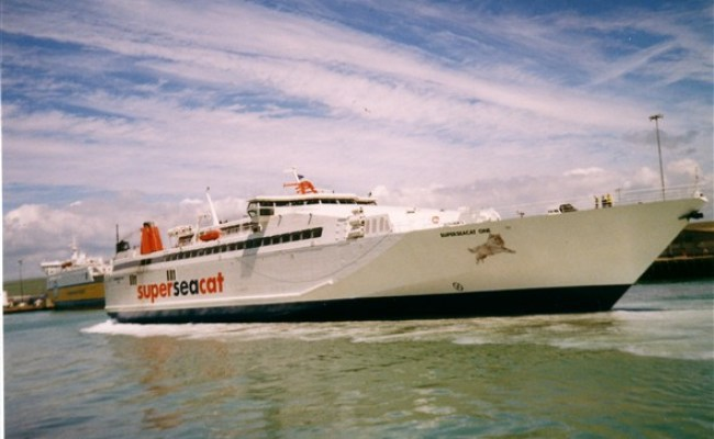 A Good But Short Lived Fast Ferry The Superseacat