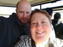 Jason & Barb on the Ober Gatlinburg Aerial Tramway