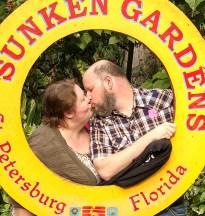 Barb & Jason, Sunken Gardens, St. Petersburg, FL