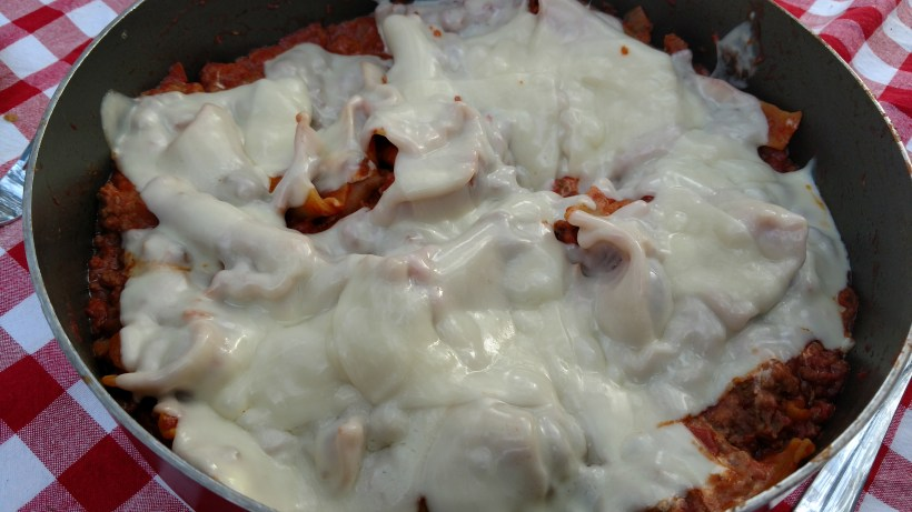 Easy one skillet lasagna
