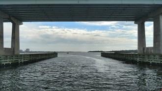 Bridge from the Lady Dolphin of Daytona Boat