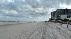 Hard pack beach of Daytona, FL