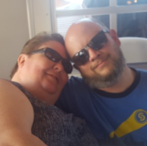 Barb and Jason enjoying the cruise with Deina on the Halifax River at Daytona, Florida