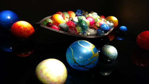 Float Boat (2007) is a life size boat with huge spheres around it