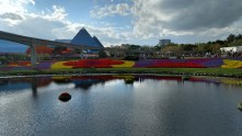 The Land and Journey into Imagination at the Flower and Garden Festival of Epcot Center