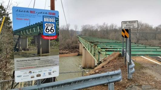 Route 66 Bridge over the Meramec River