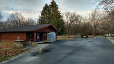 Comfort Station at Yellow Banks Campground 1, Des Moines, IA