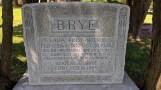 Clara Fodt-Neprud and Adolph C Brye gravestone