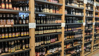 Over 100 root beer options at the Minnesota's Largest Candy store