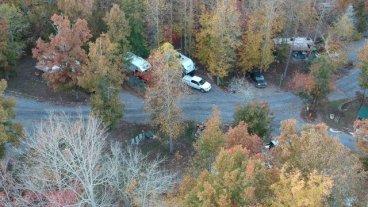 Little River RV Park above Fort Payne, AL