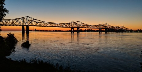 The Natchez-Vidalia John R Junkin Dr Bridge over the Mississippi River