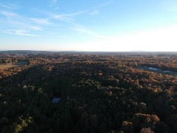 Fort Payne Alabama area via drone over the Little River RF Park
