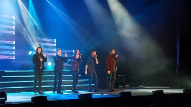 The Home Free vocal band from Minnesota was just down the road, we enjoyed an evening at their concert.