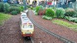 Walt Disney loved trains, they are still running at Epcot by the German pavilion