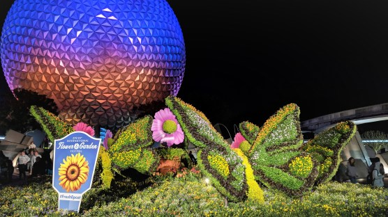 Spaceship Earth at Flower and Garden Festival