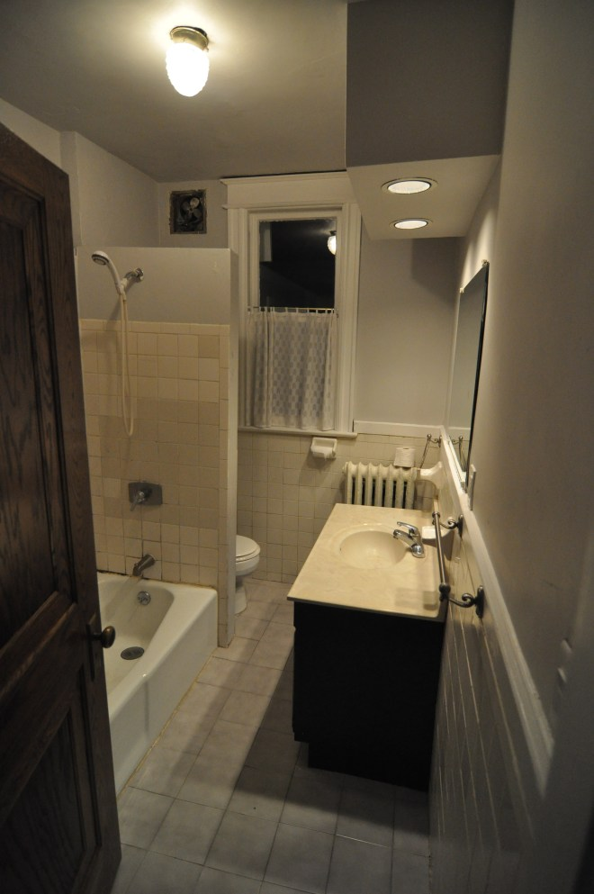 bathroom overall before