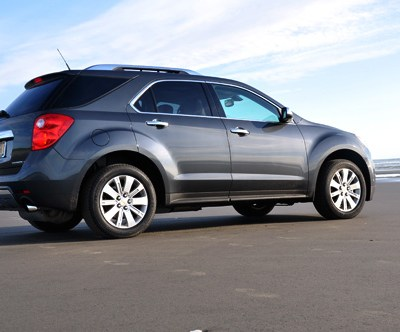 All-Wheel Drive & A Sandy Beach With A Chevy Girl In Her 2010 Equinox LTZ