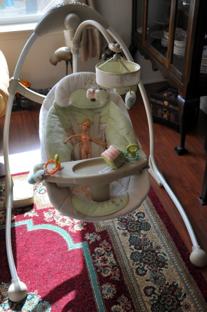 Buying For Baby: Bright Starts Ingenuity Cradle and Sway Swing – Giveaway!