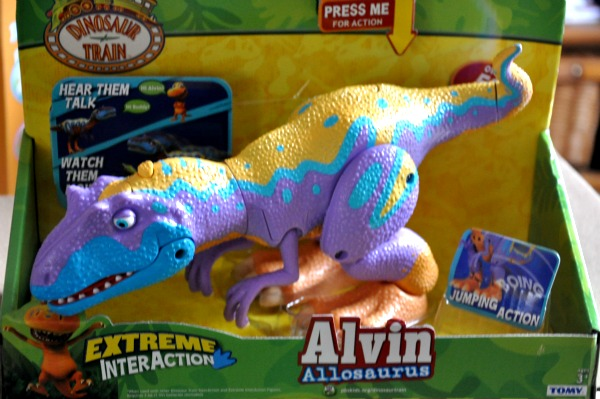 Dinosaur Train Extreme InterAction Alvin – Giveaway!