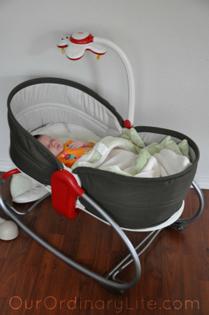 The TinyLove 3-in-1 Rocker Napper – Giveaway!