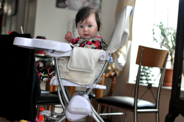 Holiday Gift Guide: Joovy Nook Highchair For Baby