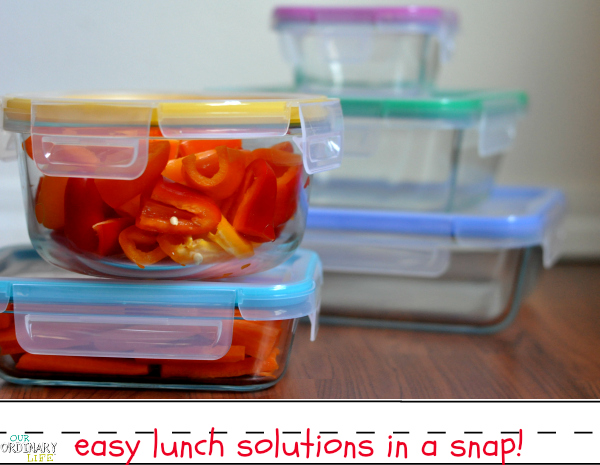 Back To School Lunch Solutions – Snapware® Total Solution™ with Pyrex® Glass Food Storage – Giveaway!