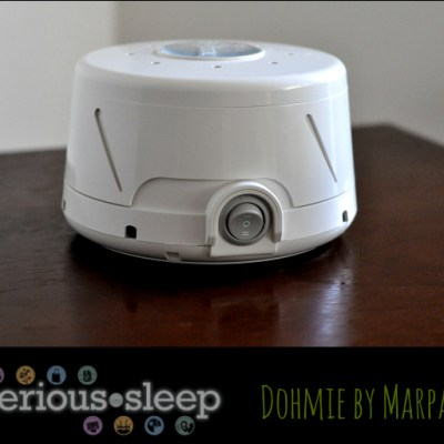 Give The Gift Of Sleep: Dohmie by Marpac Sound Machine #SeriousSleep