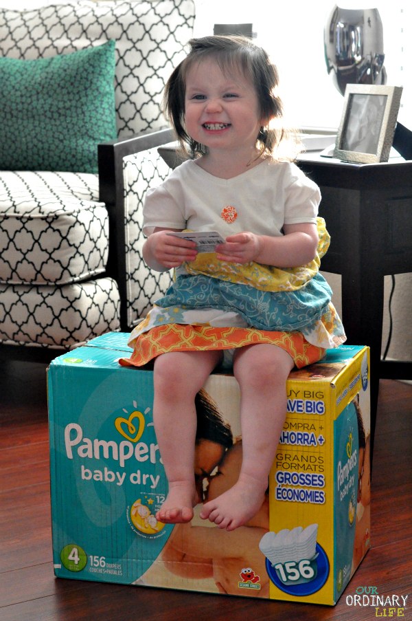"""Pampers Babies""""R""""Us Olympics Savings – #MilestoneMoments Giveaway"""