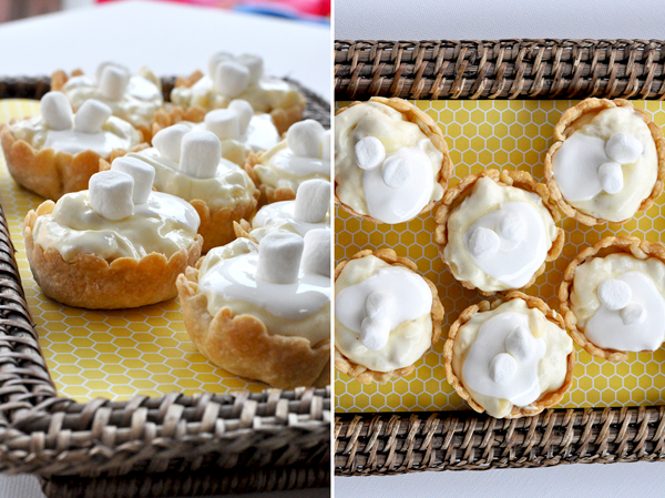 Kraft Banana Cream Pie Tarts With Mini Marshmallow Topping (1)