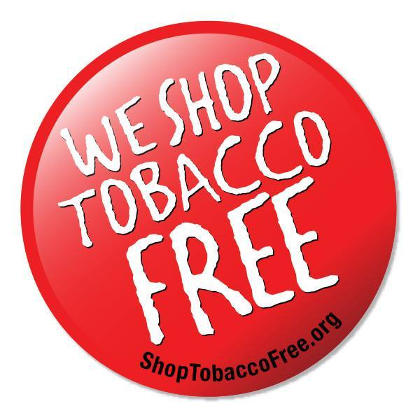 we shop tobacco free