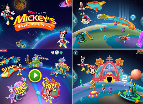 Disney Imagicademy Mickeys Math World app