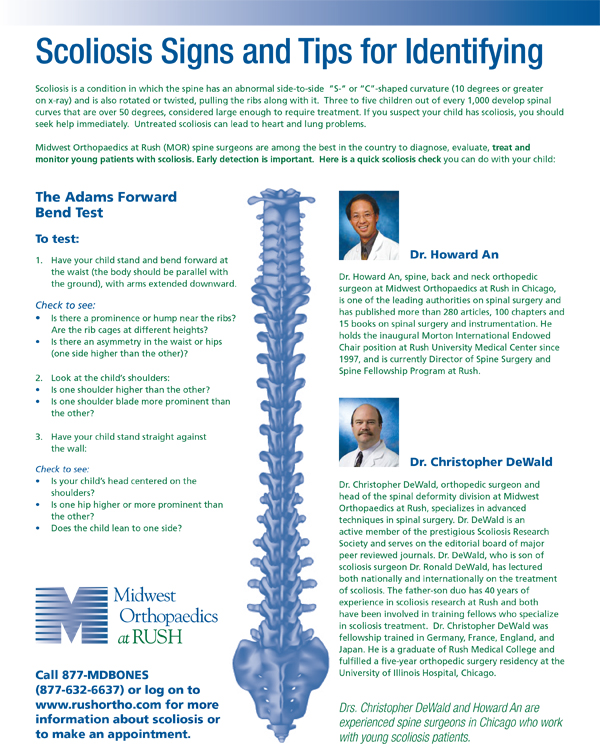 The Importance Of Early Detection Of Scoliosis In Children