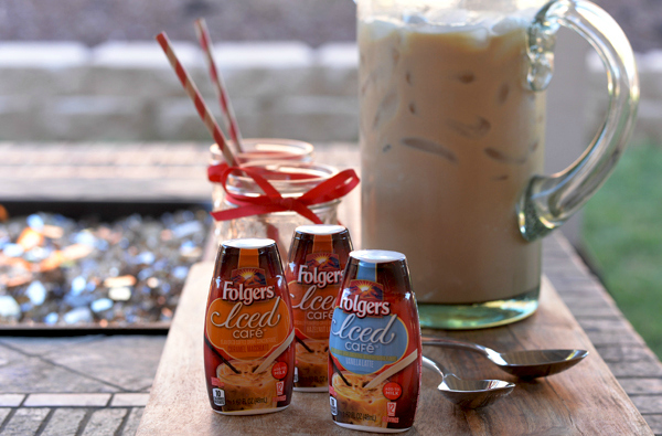 Folgers Iced Cafe Coffee Concentrate Drink  (1) #MyIcedCafe