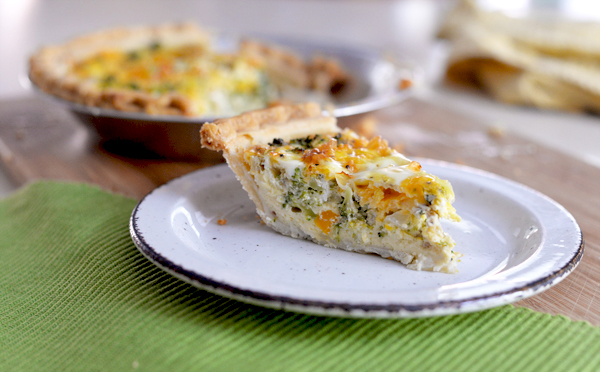Silk Low Fat Vegetable Quiche Recipe