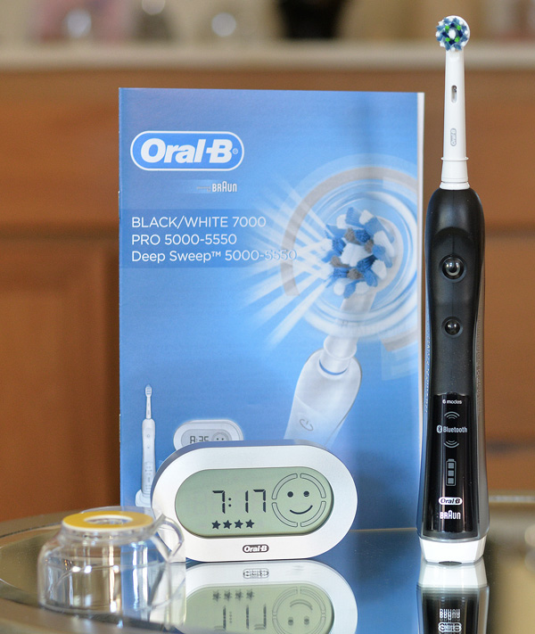 Oral B Black 7000 Electric Toothbrush (3)