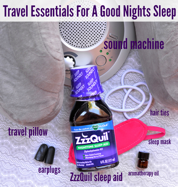 Must Have Travel Essentials For A Good Nights Sleep