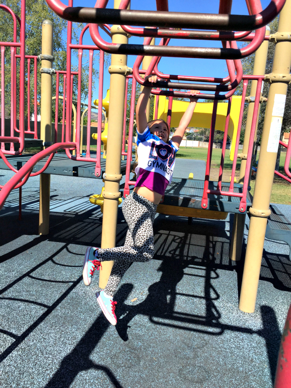 playing at the playground brooklin