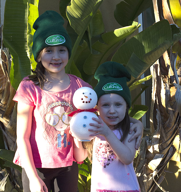 Culturelle Homemade Snowman Craft Southern California (5)