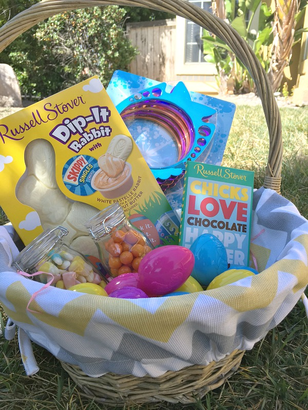 Easy Easter Basket with Russell Stover