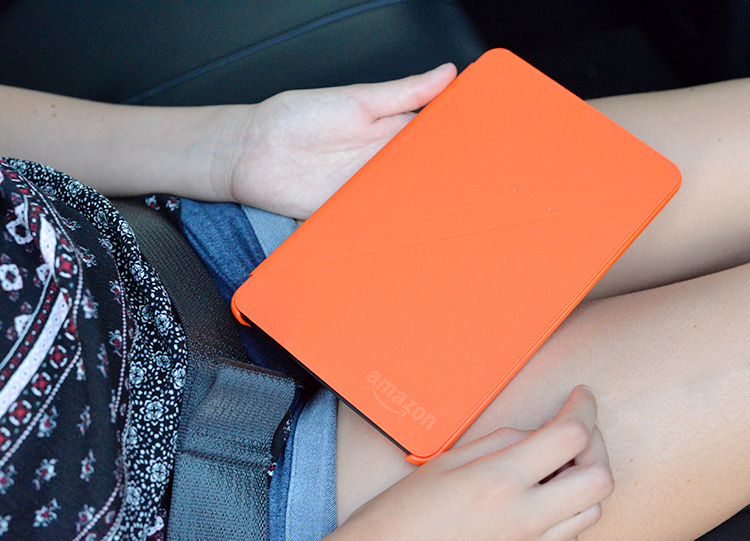 Amazon Fire Tablet Orange Cover