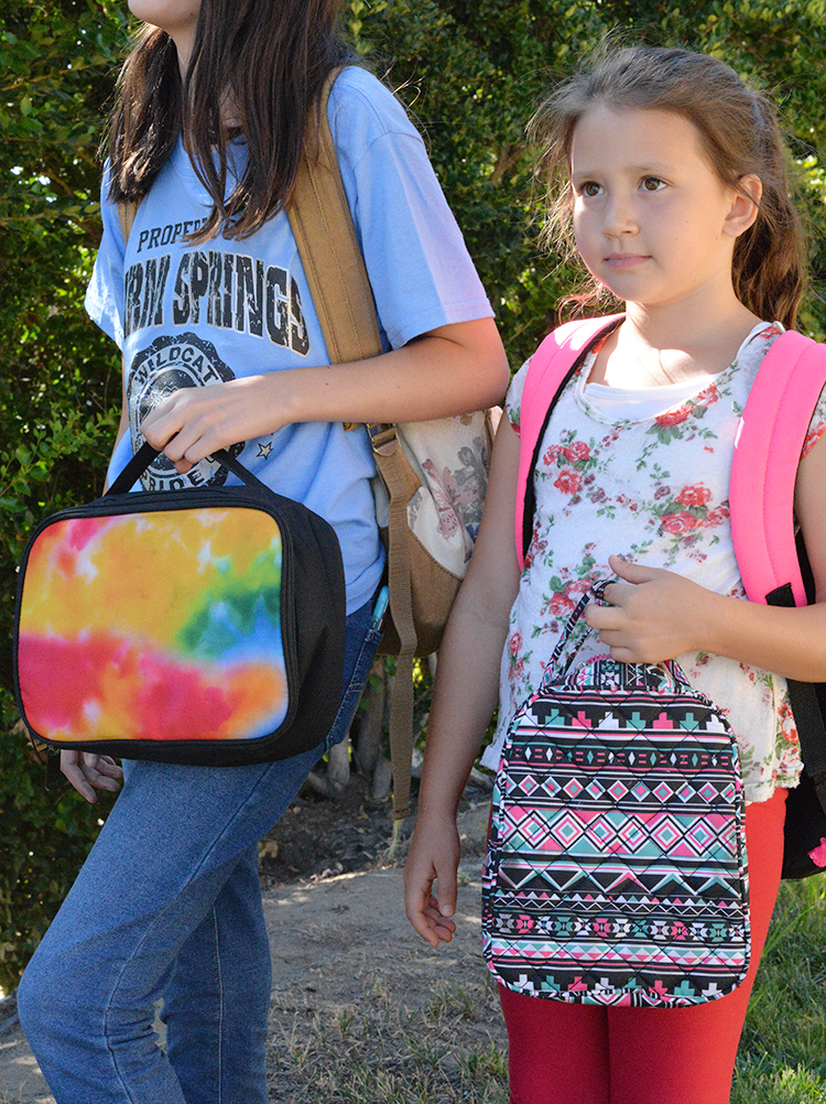 back to school essentials lunchbags