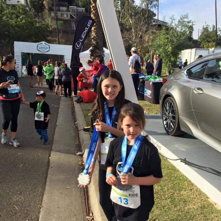 lexus lace up kids run