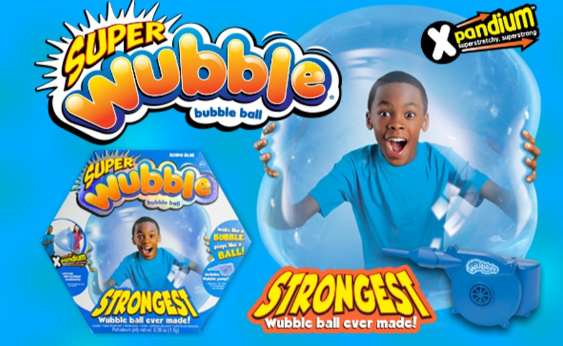 Fun Toys For Kids - The New SuperWubble Bubble Ball