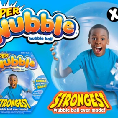 Fun Toys For Kids – The New SuperWubble Bubble Ball