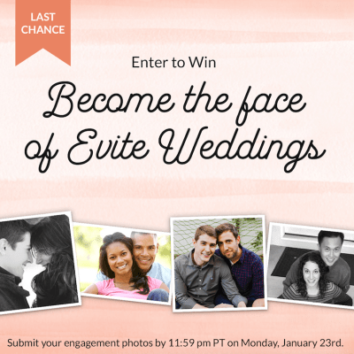 Become The Next Face of Evite Weddings